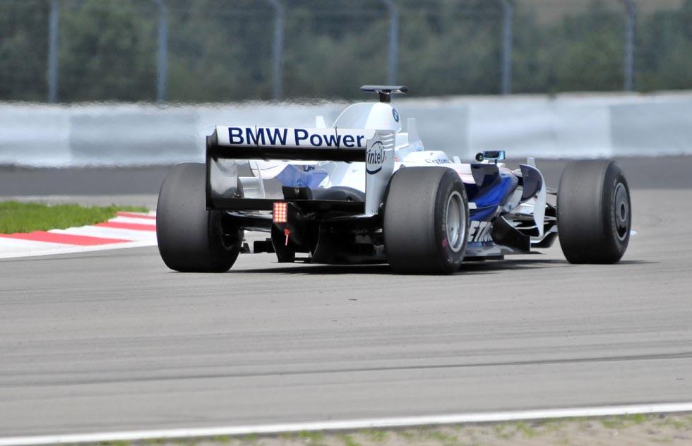 BMW Sauber F1 Experience Day - von hinten