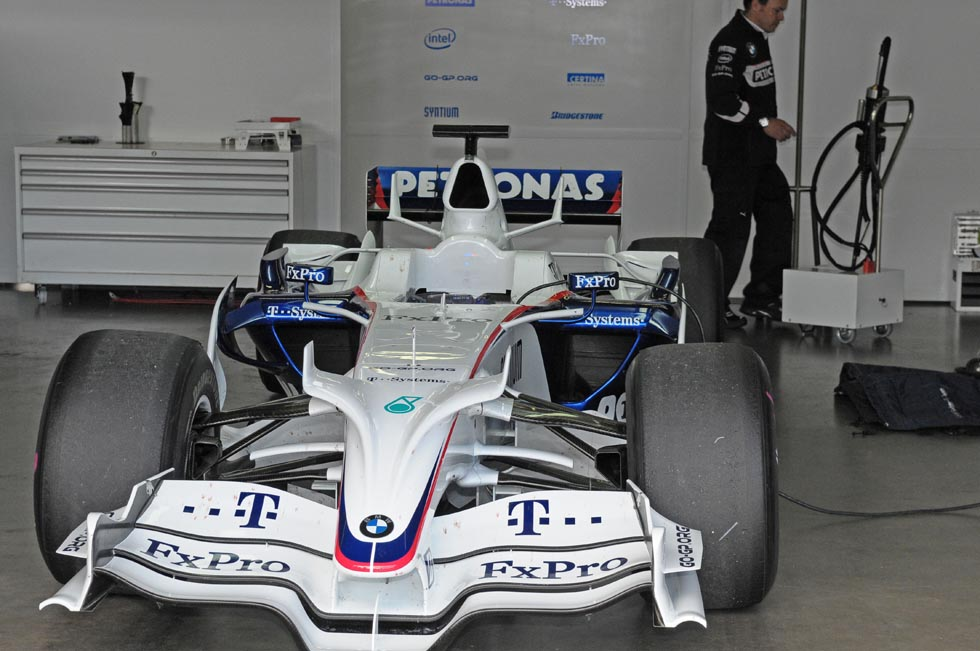 BMW Sauber F1 Experience Day in der Box