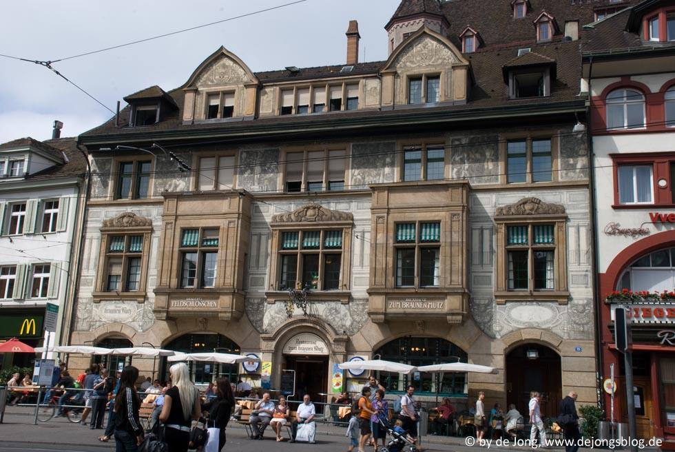 Impressionen aus Basel, Schweiz