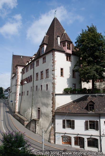 Basel - Rückseite Leonhardssporn