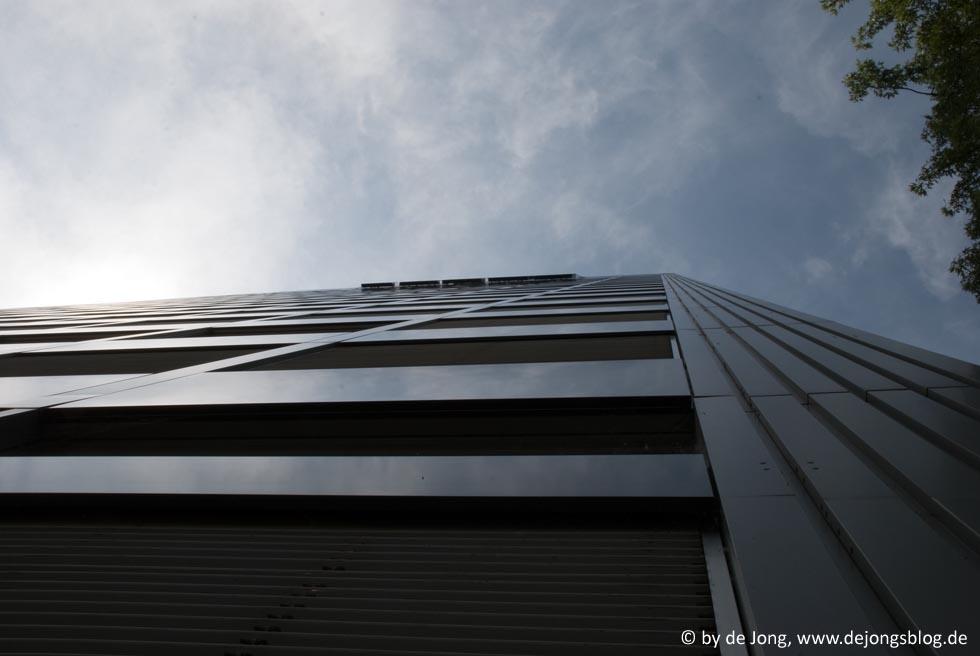 Hochhaus in Basel, Schweiz