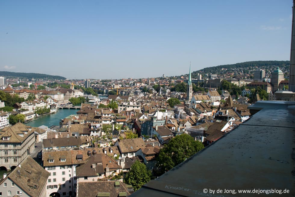 Blick vom #Muenster, #Zuerich - #Schweiz