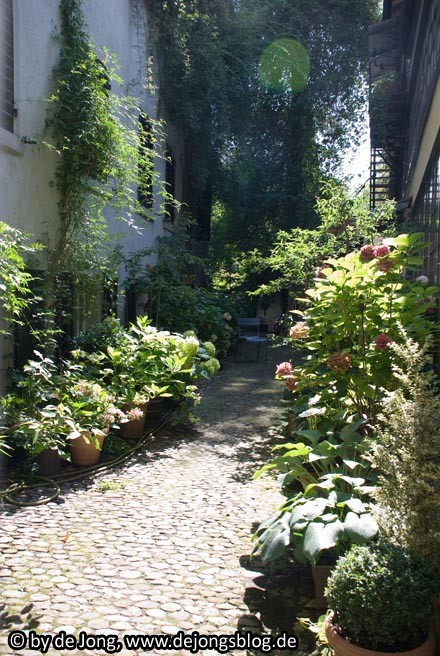 Hinterhof in #Zuerich - #Schweiz