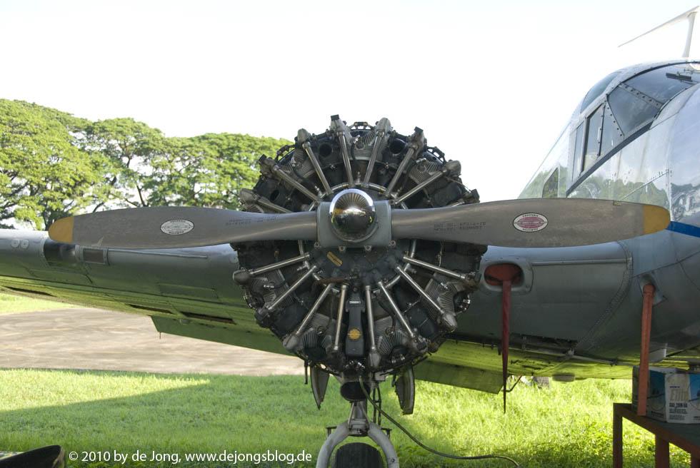 Flugzeugmotor