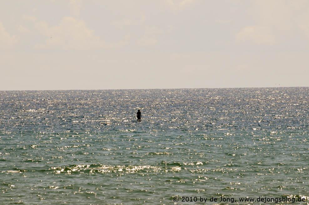 stehen im Wasser