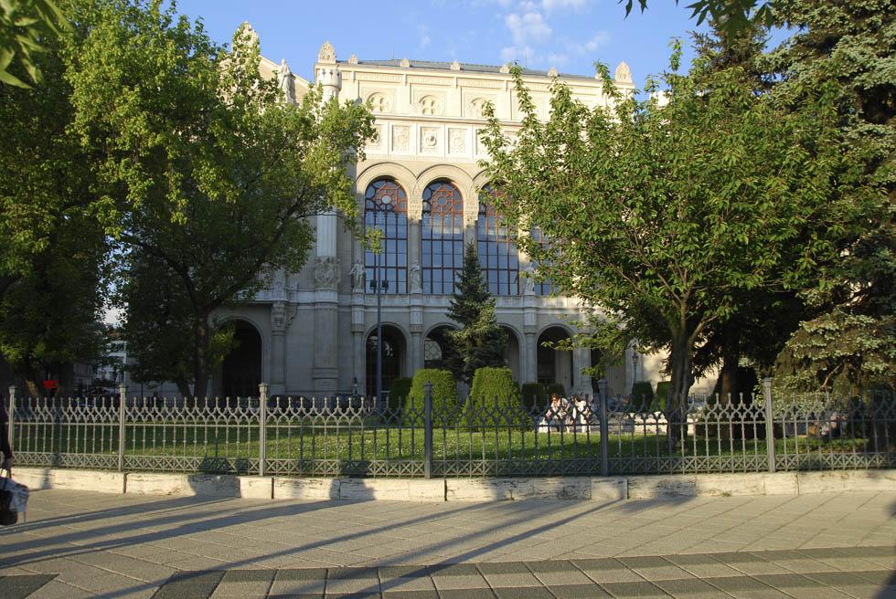 Älteres Gebäude in Budapest - Ungarn