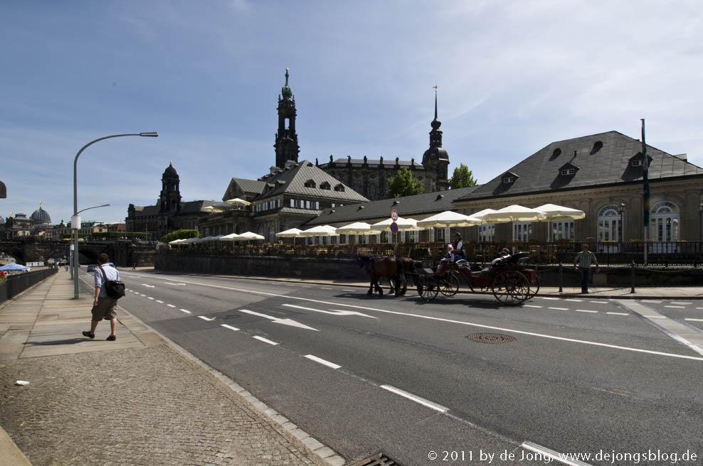 Schönes Cafe in Dresden