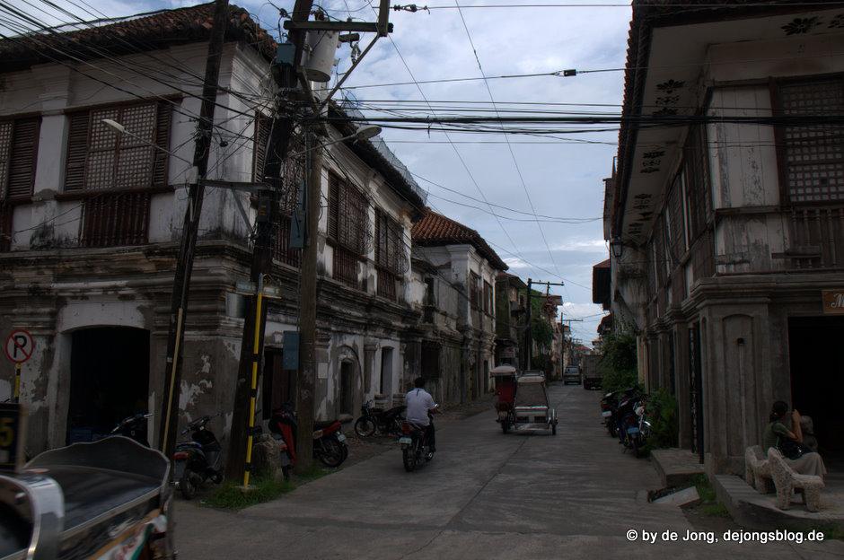 Ein altes verfallenes Haus in Vigan - Philippinen