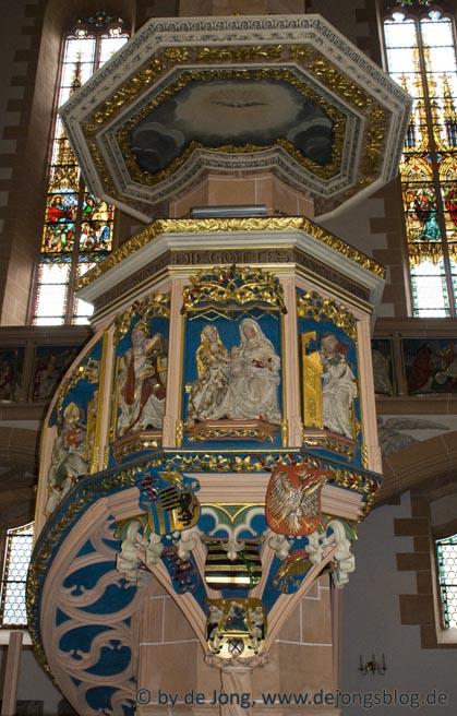 Kanzel Annenberg Kirche