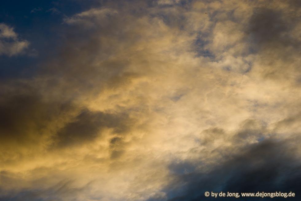 Bayrischer Himmel - Detail