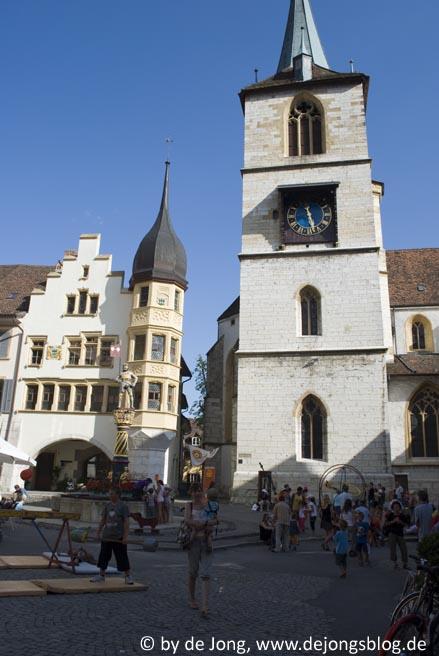 Biel - Kirchplatz