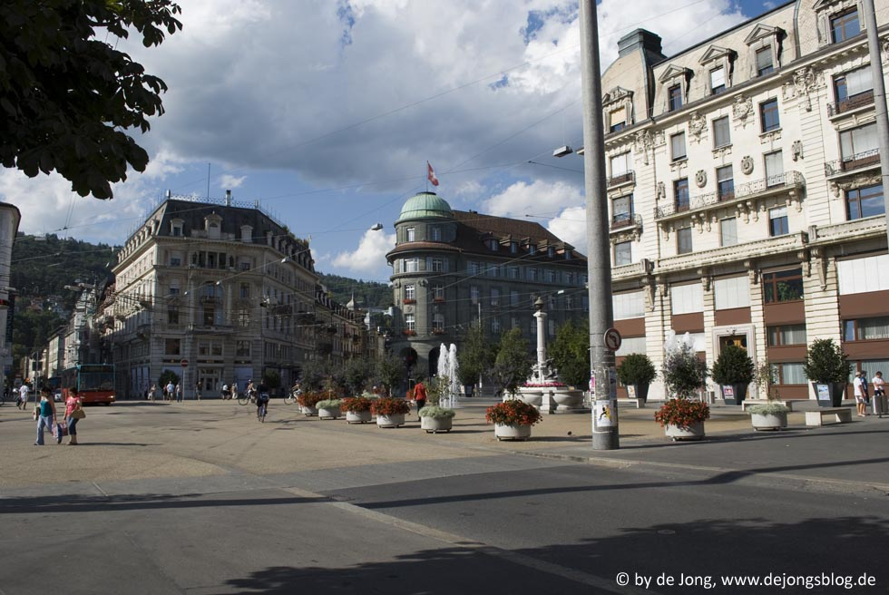 Biel - Marktplatz