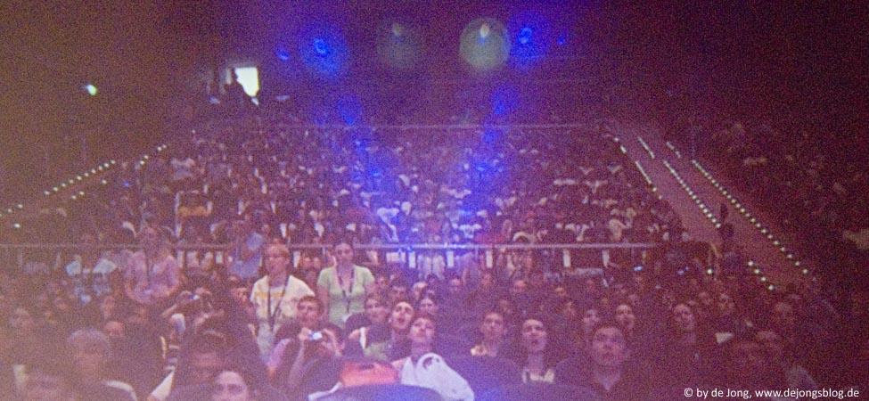 Europaeischer Jugendkongress - Teil des Publikums