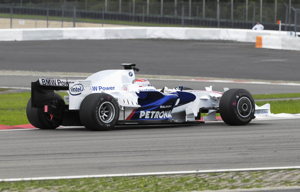 Sauber Formel 1 von hinten