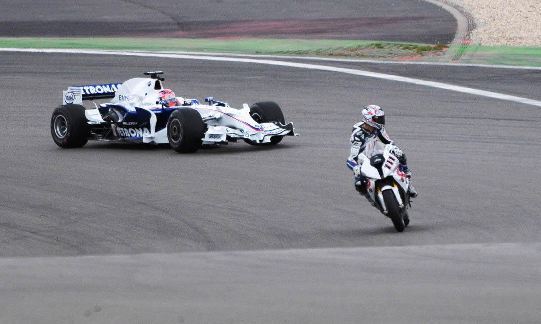 Formel 1 und Motorrad