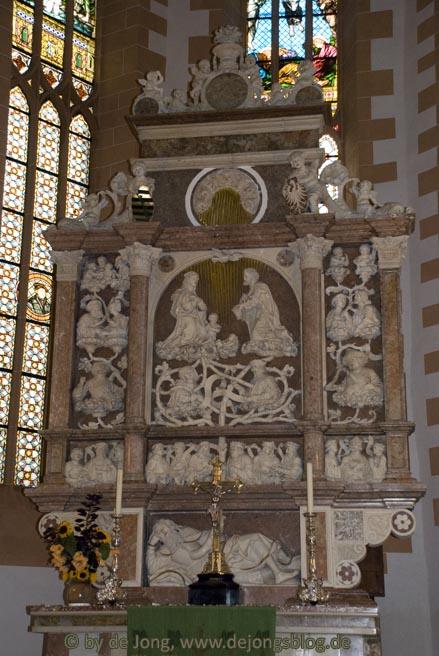 Seitenaltar Annenberg Kirche
