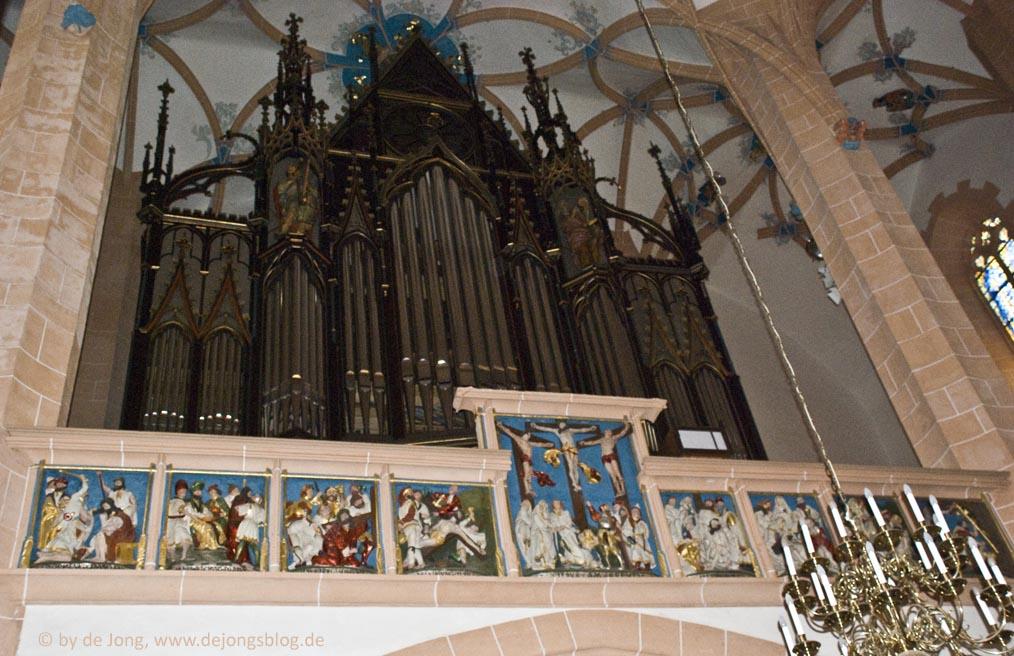 Pfeiffenorgel Annenberg Kirche