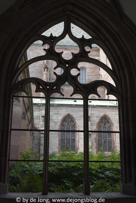 Blick in den Innenhof des Münsters