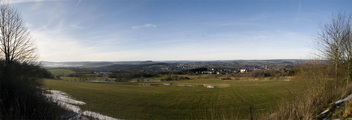 Panorama Annaberg