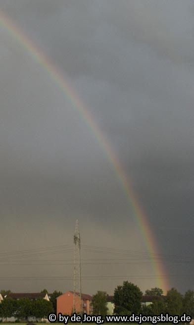 Anfang des Regenbogens