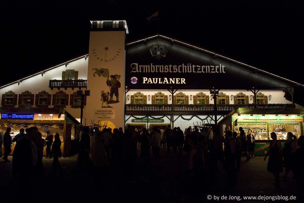 Ambrusschützenzelt - Wiesn 2009