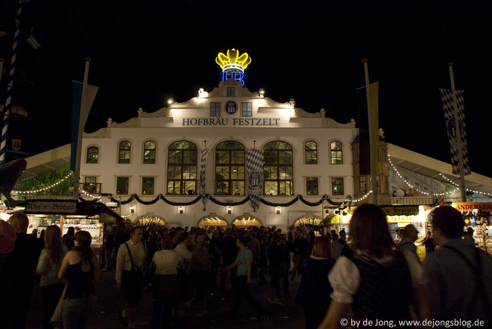 Hofbräu Festzelt - Wiesn 2009